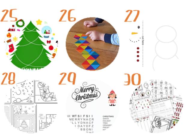 30 pasatiempos navideños imprimibles para niños | Pinterest ...
