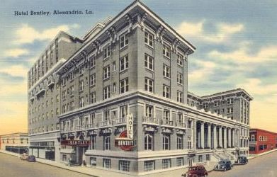 Hotel Bentley Alexandria Louisiana Circa 1940s