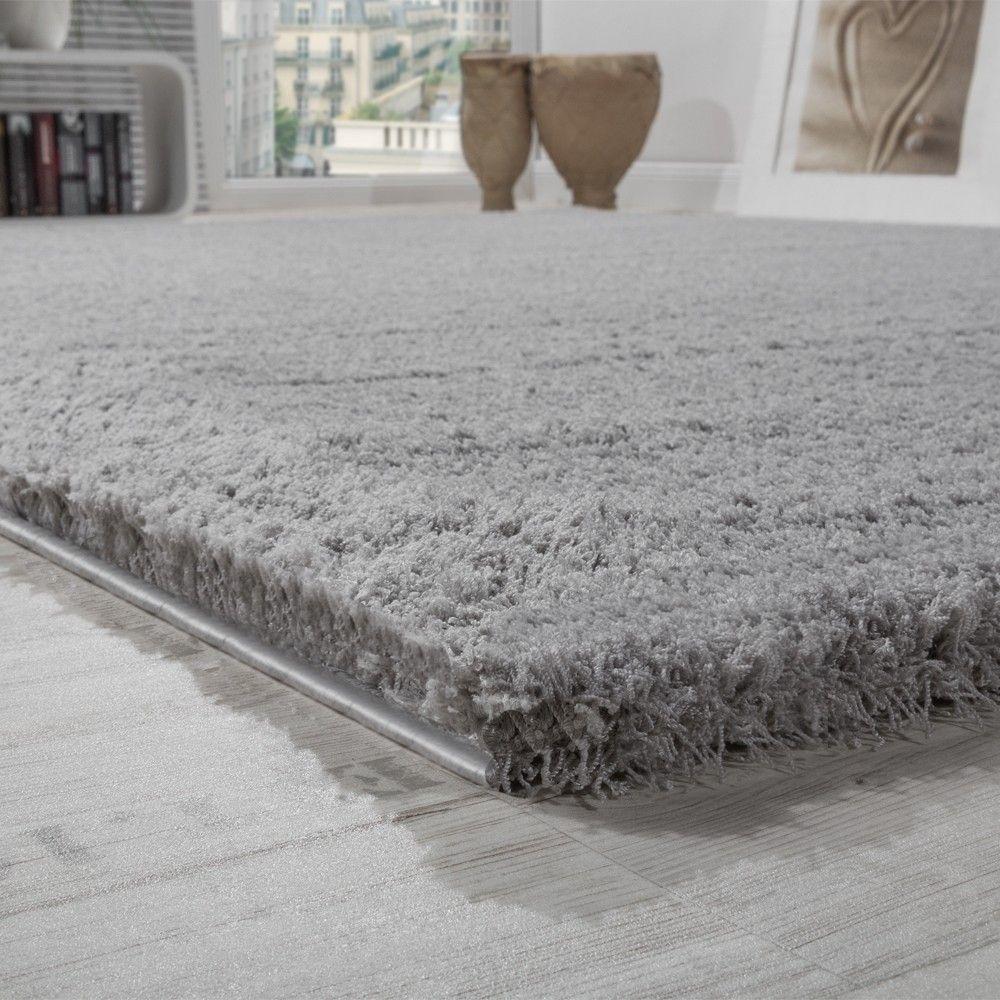 Shaggy Teppich Micro Polyester Wohnzimmer Teppiche Elegant Hochflor ...