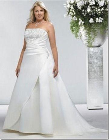 vestidos de novia para gorditas y bajitas fotos. vestidos de novia