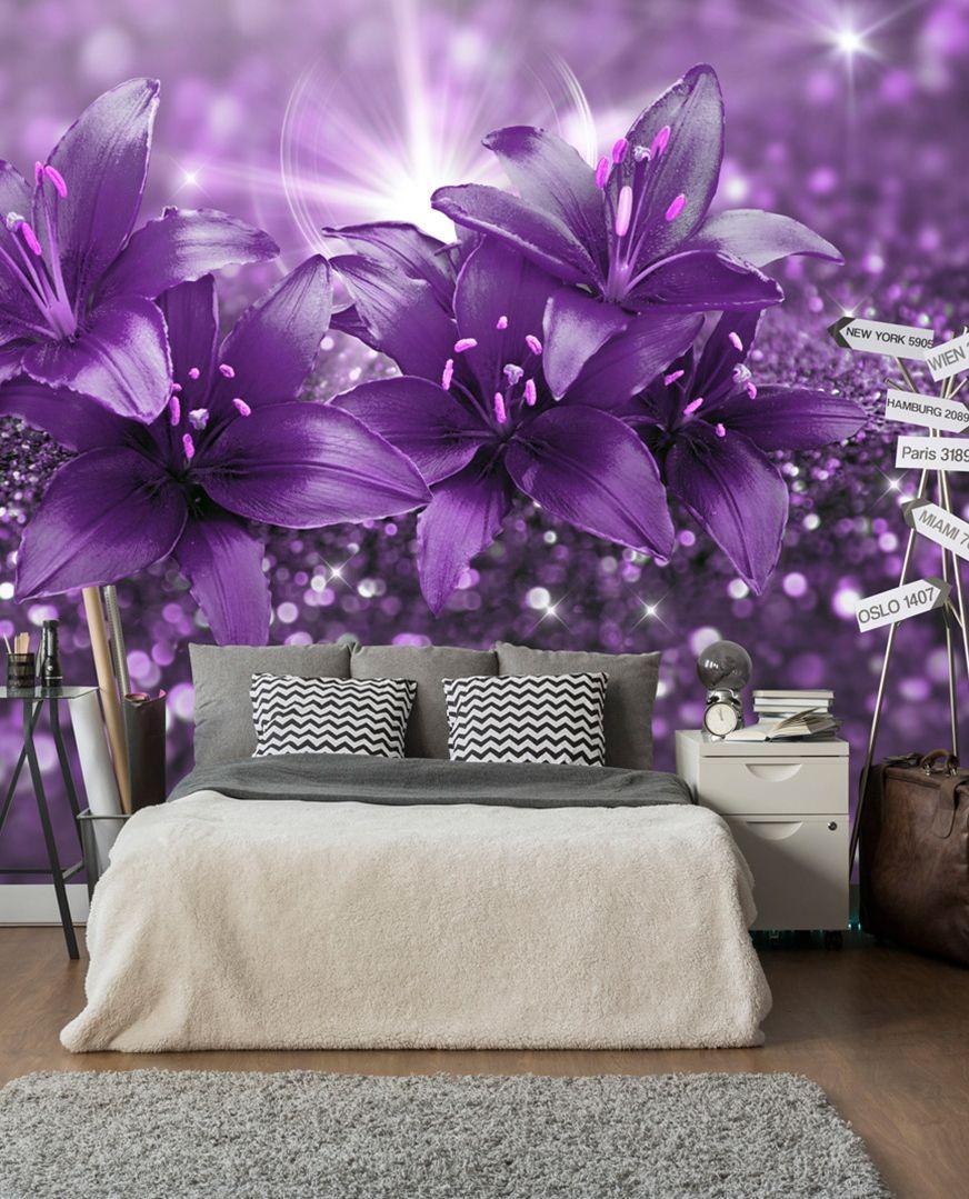 Fototapeta Arcydzielo Fioletu Masterpiece Decor Wall Wallpaper