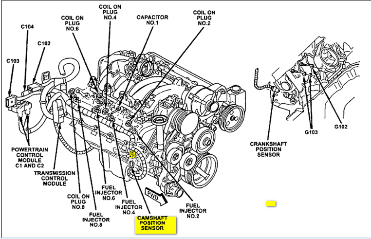 2013 toyota tundra engine diagram