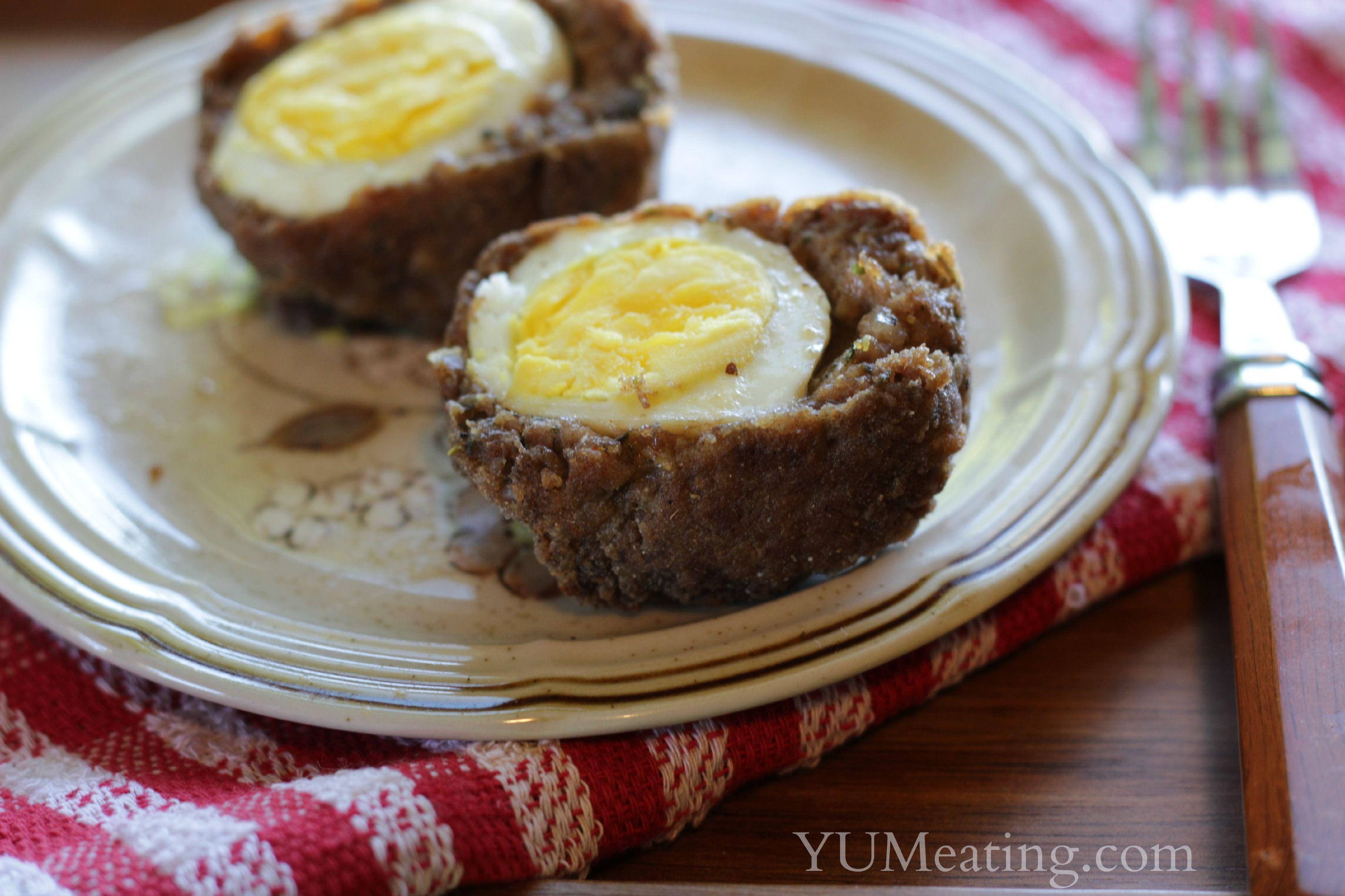 Healthier Scotch Eggs - YUM eating #scotcheggs Healthier Scotch Eggs - YUM eating #scotcheggs