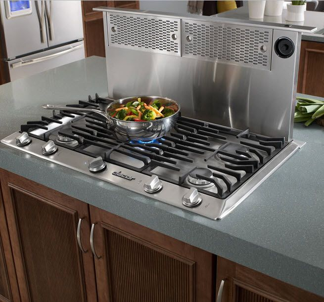 Kitchen Top 20 Finds The Renaissance Raised Ventilation System From Dacor Has A Much Better Chance Of Capturing Smoke And Fumes Th Kitchen New Kitchen Dacor