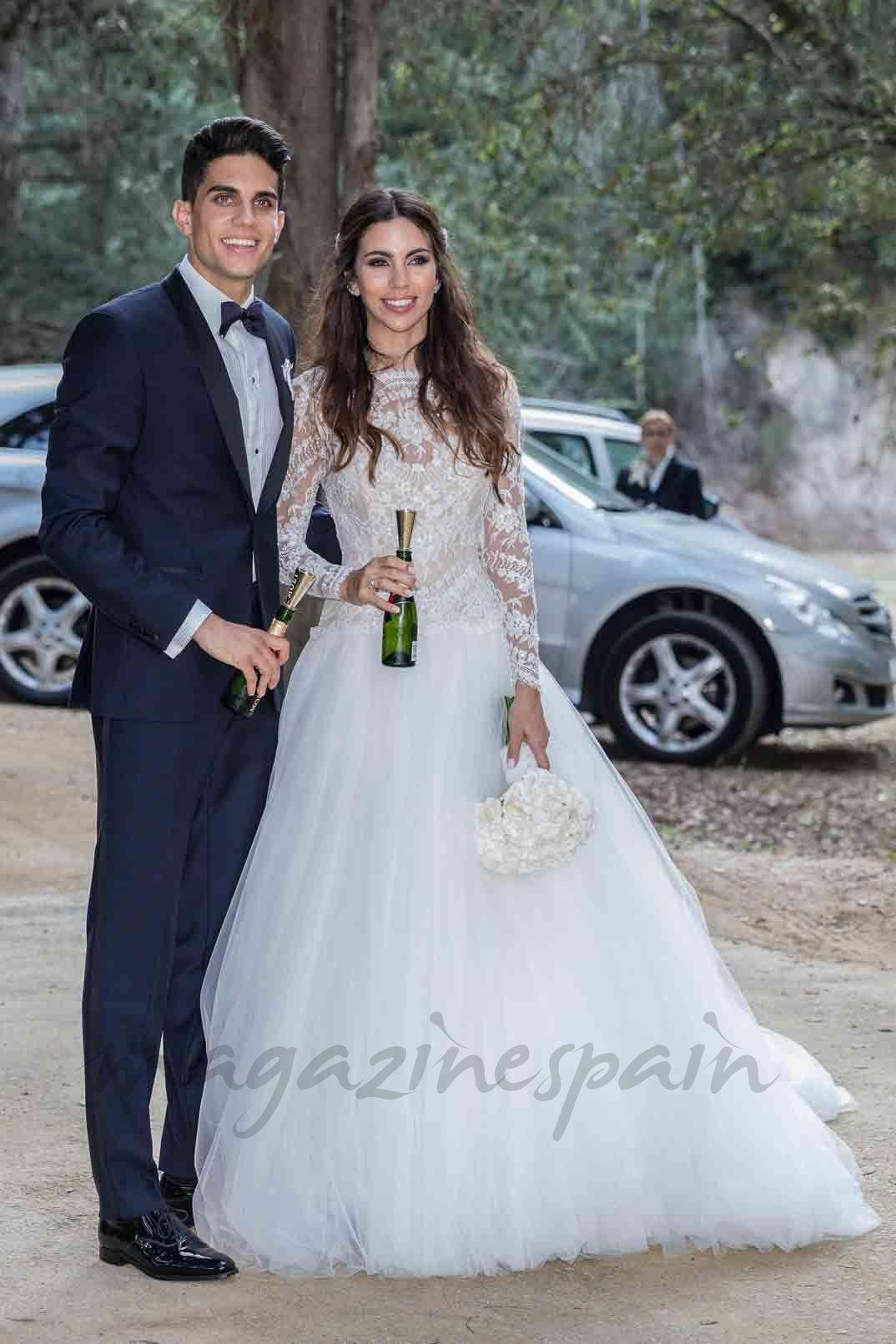 Qué original nombre le han puesto Marc Bartra y Melissa Jiménez a su ...