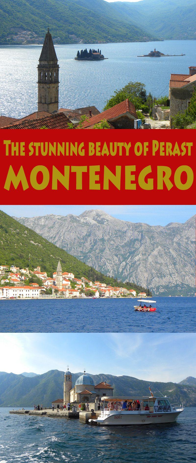 The Stunning Beauty Of Kotor Bay In Perast Montenegro Balkans Travel East Europe Travel Montenegro