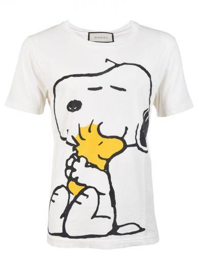 7d746bcf96dd GUCCI Gucci Snoopy T-shirt. #gucci #cloth #topwear | Gucci Men ...