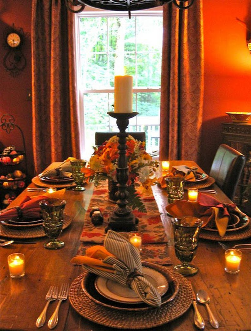 Most Trending Fall Home Decorating Ideas In 2017 That You Must See Fall Table Settings Autumn Home Decor