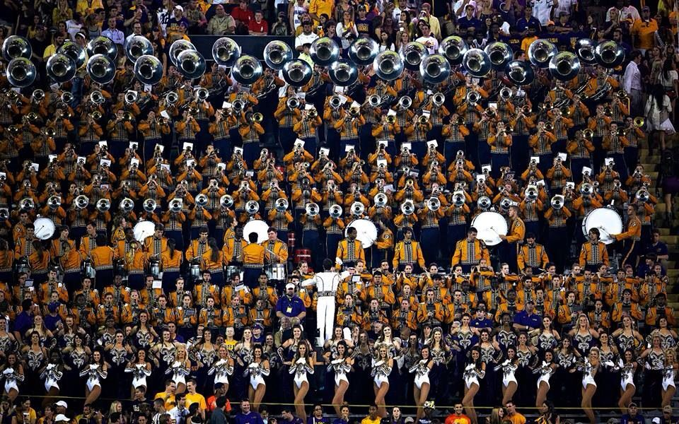 Golden Band From Tigerland Lsu Lsu Tigers Football