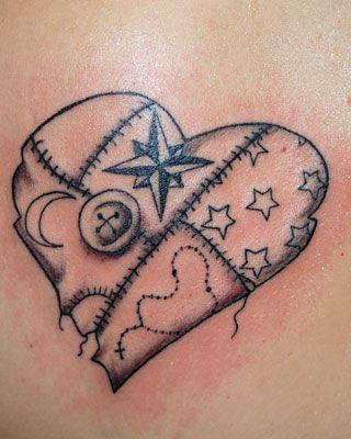 quilt tattoo like this | tattoos | Pinterest | Quilt tattoo ... : quilt heart tattoo - Adamdwight.com