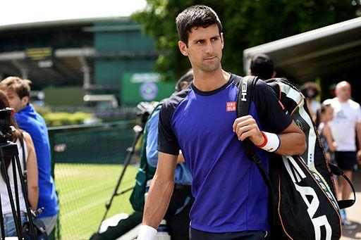 Novak Djokovic at Wimbledon