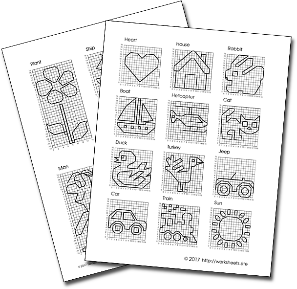 Graphing Worksheets For Children 2nd Grade 3rd Grade
