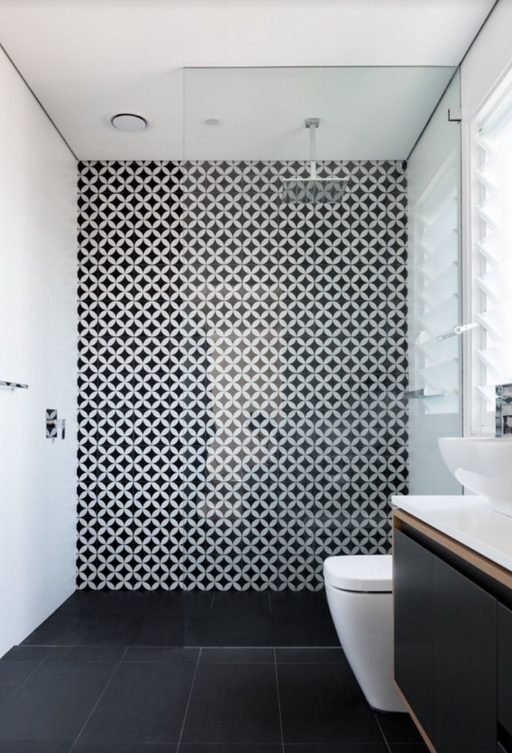 Accent tile wall | INTERIOR DESING | Pinterest | Badezimmer ...