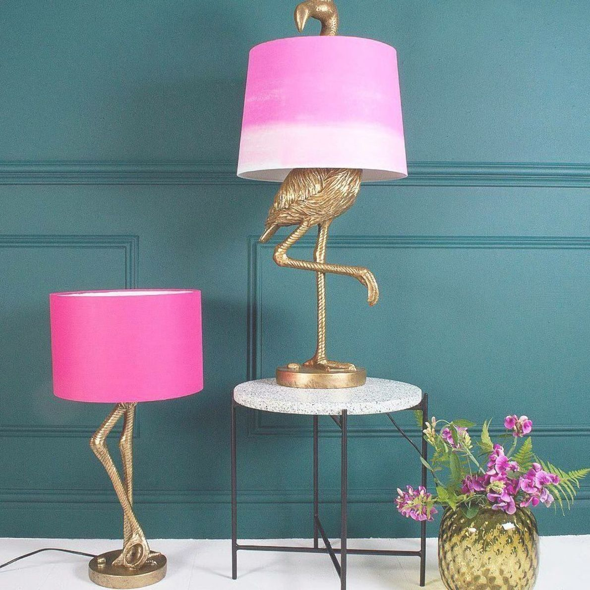 Add A Touch Of Wild Whimsy To Your Home Decor With This Quirky Animal Lamp Trend From Giraffes To Llamas To Unicorns Lampentisch Lampen Wohnzimmer Dekor