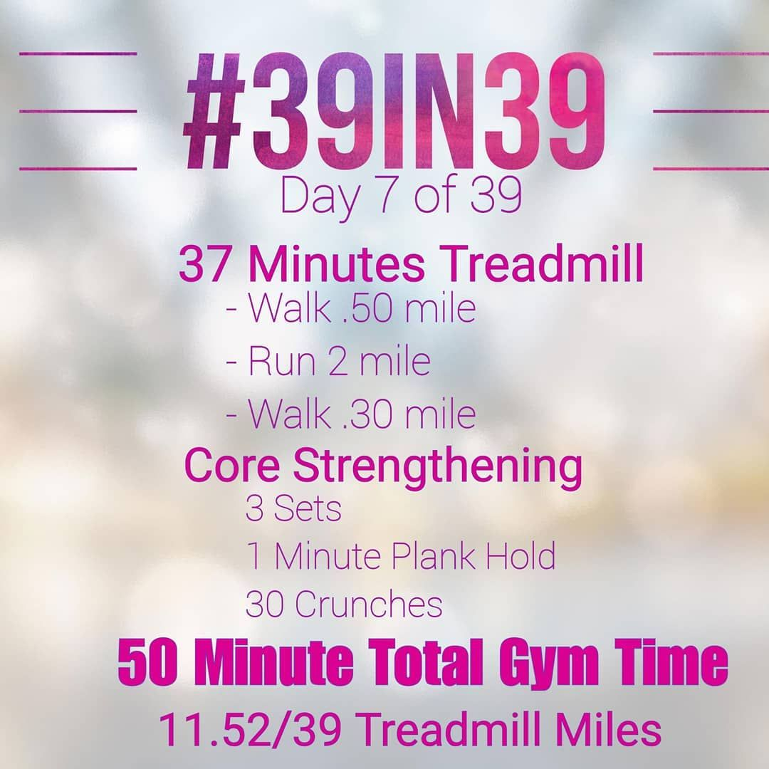 """🏃♀️ Day 7!! Yesterday's Class has me feeling SORE! Today I did what I'm going to call an """"Active Re..."""