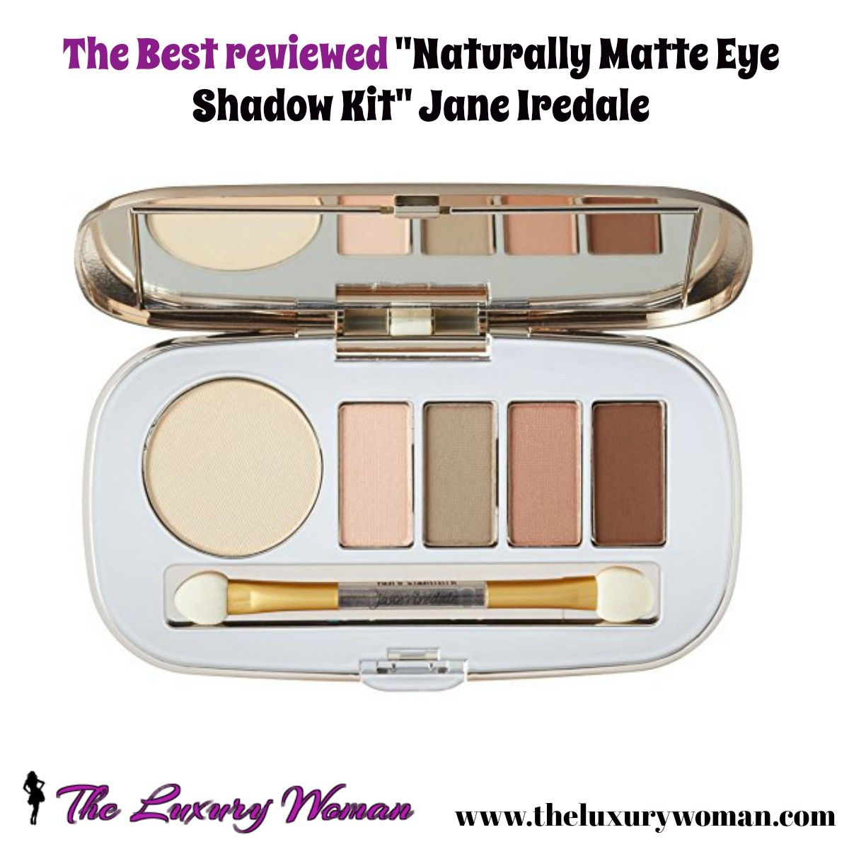 """The best """"Naturally Matte Eye Shadow Kit"""" Jane Iredale"""