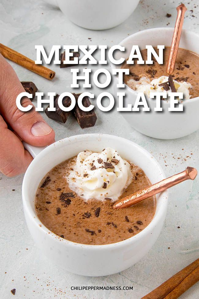 Spiced Up Mexican Hot Chocolate