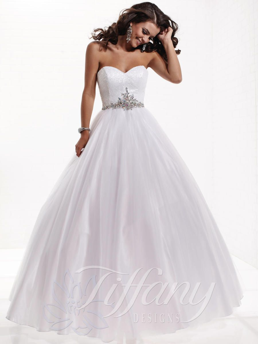 debutante gowns white | Debutante Gowns - Tiffany Presentations ...