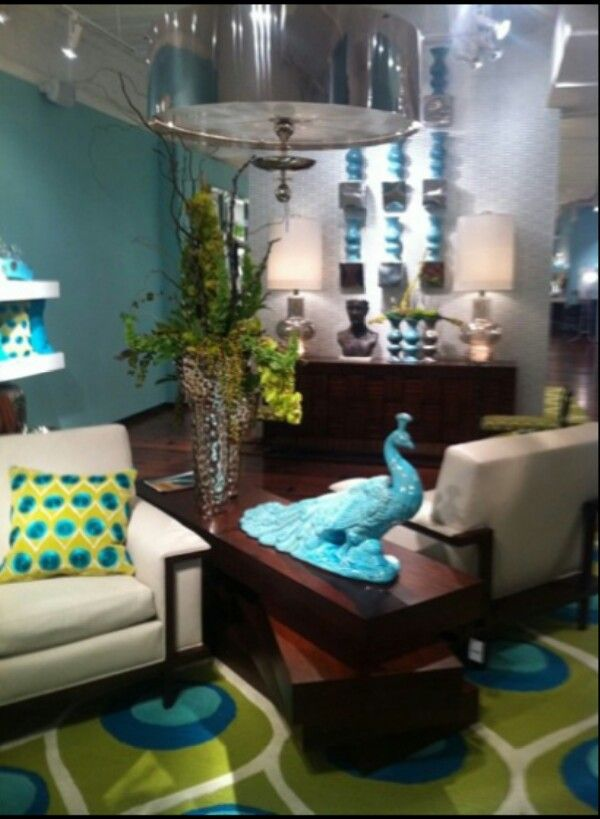 Pin By Michelle Rivera On Peacocks Peacock Living Room Peacock Decor Home N Decor #peacock #color #living #room #ideas