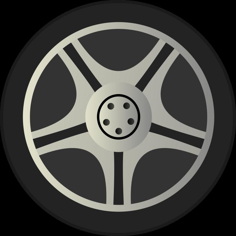 Car Wheel Png Image Car Wheel Tire Vector Wheel