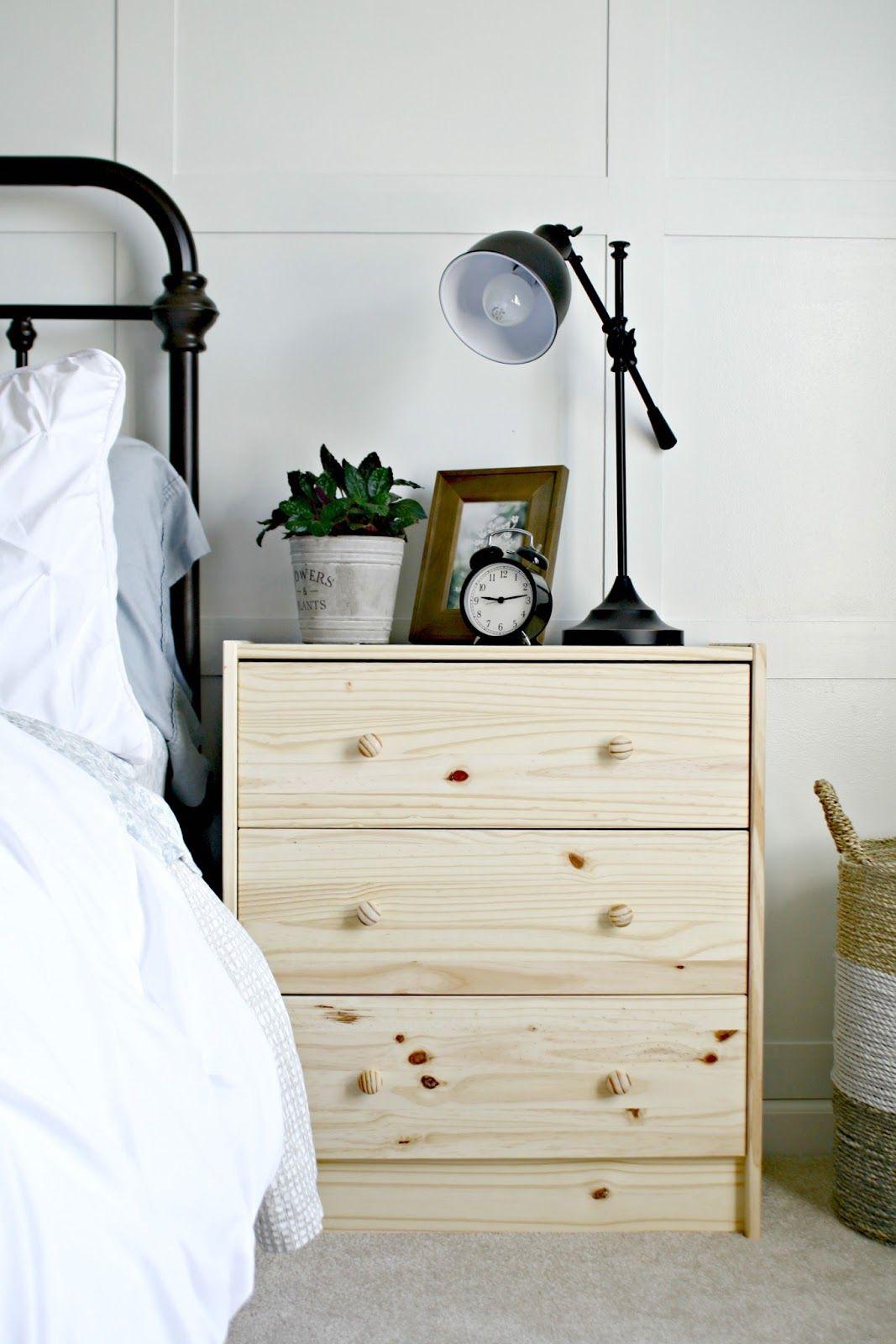 ikea dresser hacks as nightstands