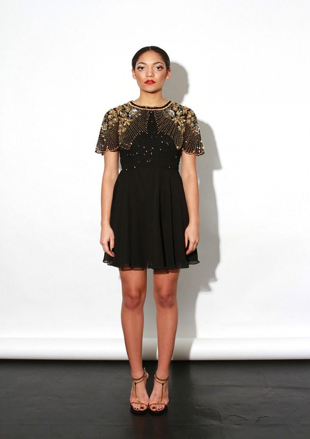 Onyx Dress Black - Virgos Lounge  c9f994031