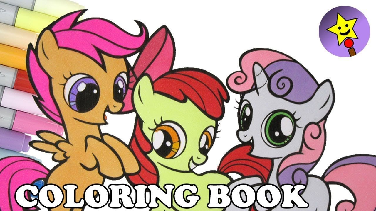 Cutie Mark Crusaders Coloring Book Page Sweetie Belle Coloring Book Page Apple Bloom Coloring B My Little Pony Coloring My Little Pony Scootaloo Coloring Books
