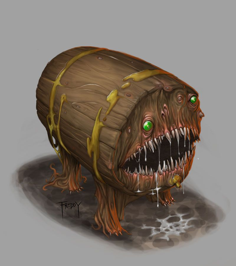 Dnd Mimic By Graphicgeek Monster Beast Creature Animal Create Your Own Roleplaying Game Material W Rpg Bard Www Rpgbard Com Writing Inspiration For