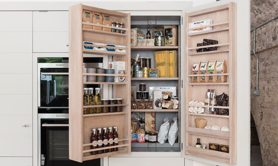 Limehouse Larder Cabinet, Fitted Kitchen And Kitchen Ideas