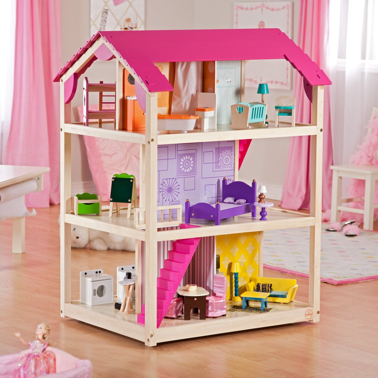 I Picked This Dollhouse Because It Allows More Creativity There Are No Preset Rooms With