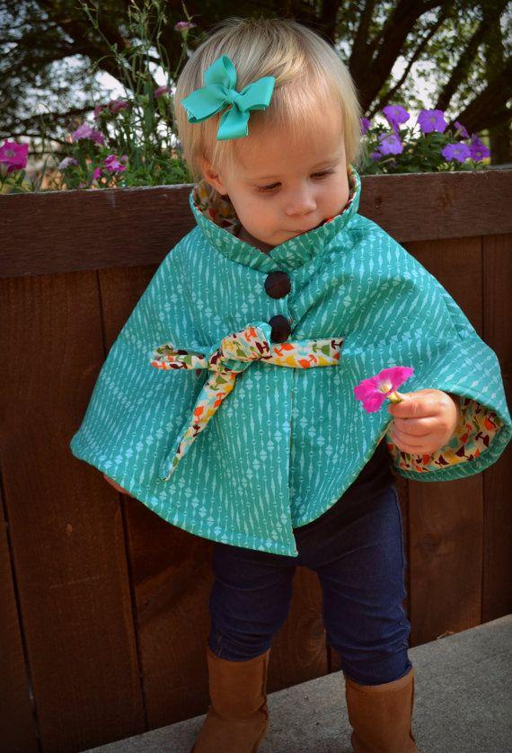PDF Sewing Pattern Girl Jacket Pattern Kid door MyLittlePlumcake