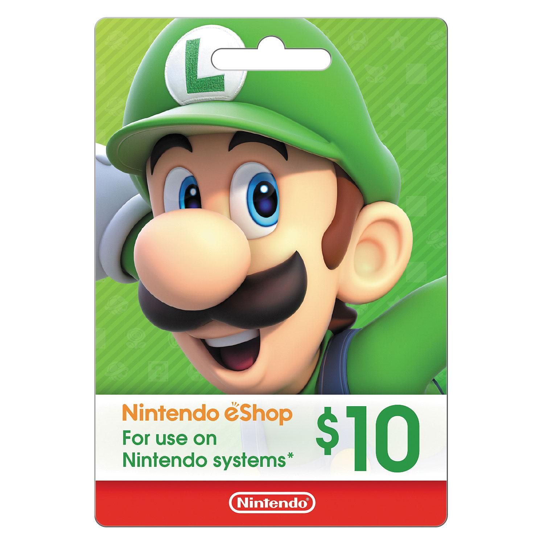 Nintendo eGift Card - Various Amounts (Email Deliv