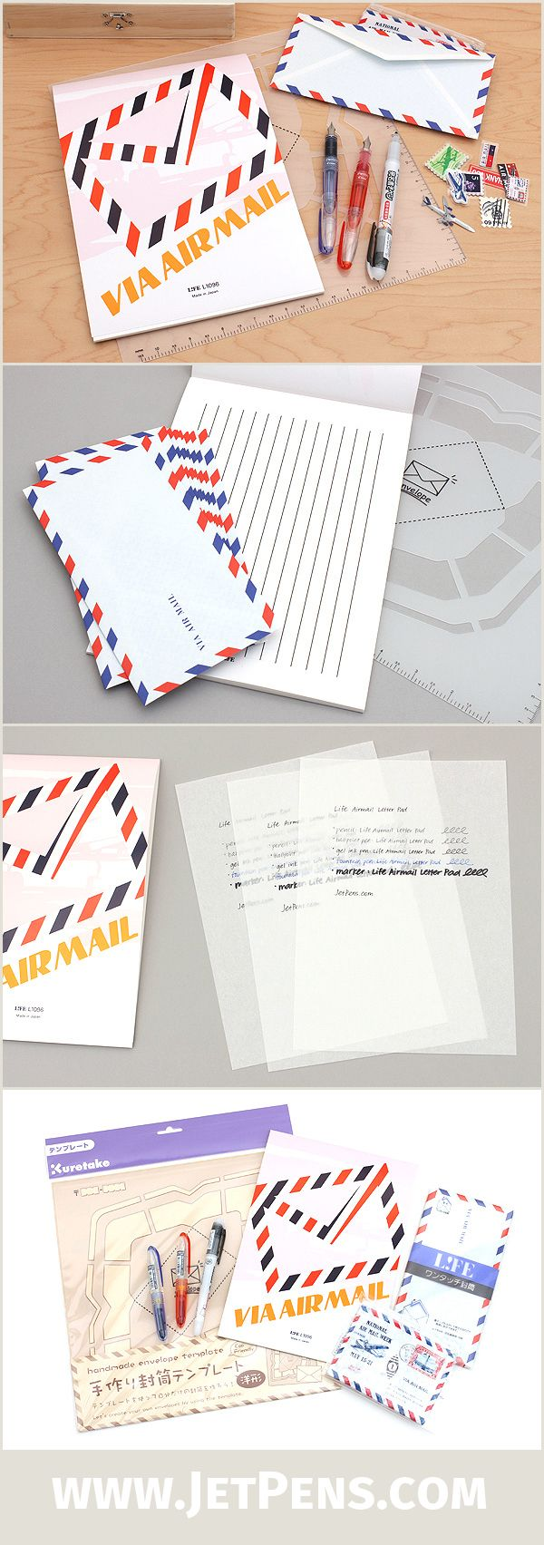 The JetPens Snail Mail Set will keep the art of handwritten correspondence alive!