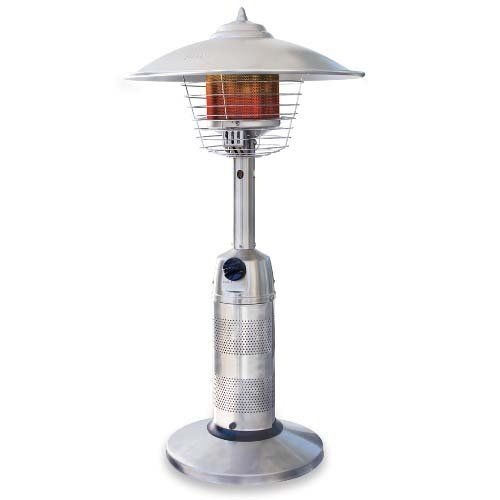 Endless Summer Stainless Steel Portable Table Top Outdoor Heater 136 10 The Stainless Steel Tabl Tabletop Patio Heater Propane Patio Heater Outdoor Heaters