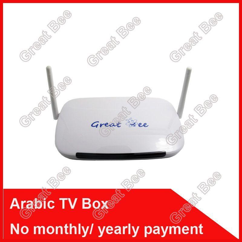 Great Bee Arabic TV Box IPTV Support 400 Arabic Channels