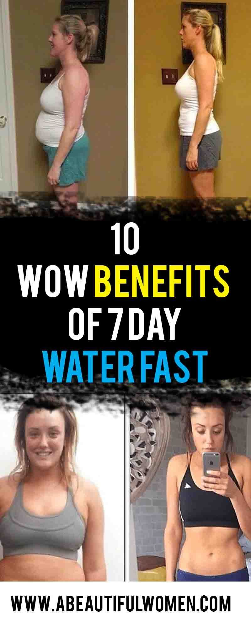 10 Wow Benefits Of 7 Day Water Fast With Images Water Fasting