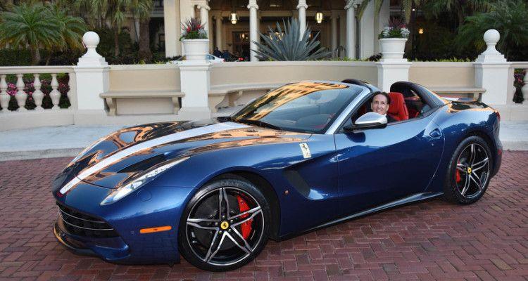 Foi entregue o primeiro Ferrari F60 America