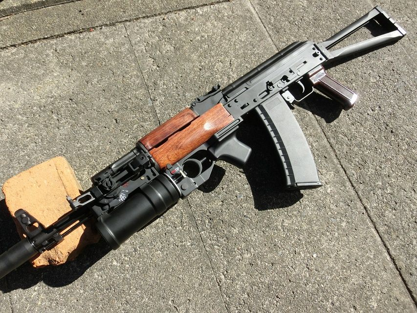 Ak74m: KSC AK74M Custom/AKS74N With D-boys GP-25