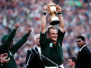 1995 Rugby World Cup Win With Nelson Mandela Amazing Day Amazing Past Of Our History Rugby World Cup Springbok Rugby South African Rugby