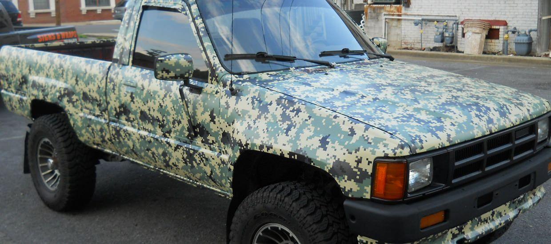 Digital Camouflage Camo Vehicle Wrap Camo Vehicle Wraps Camo