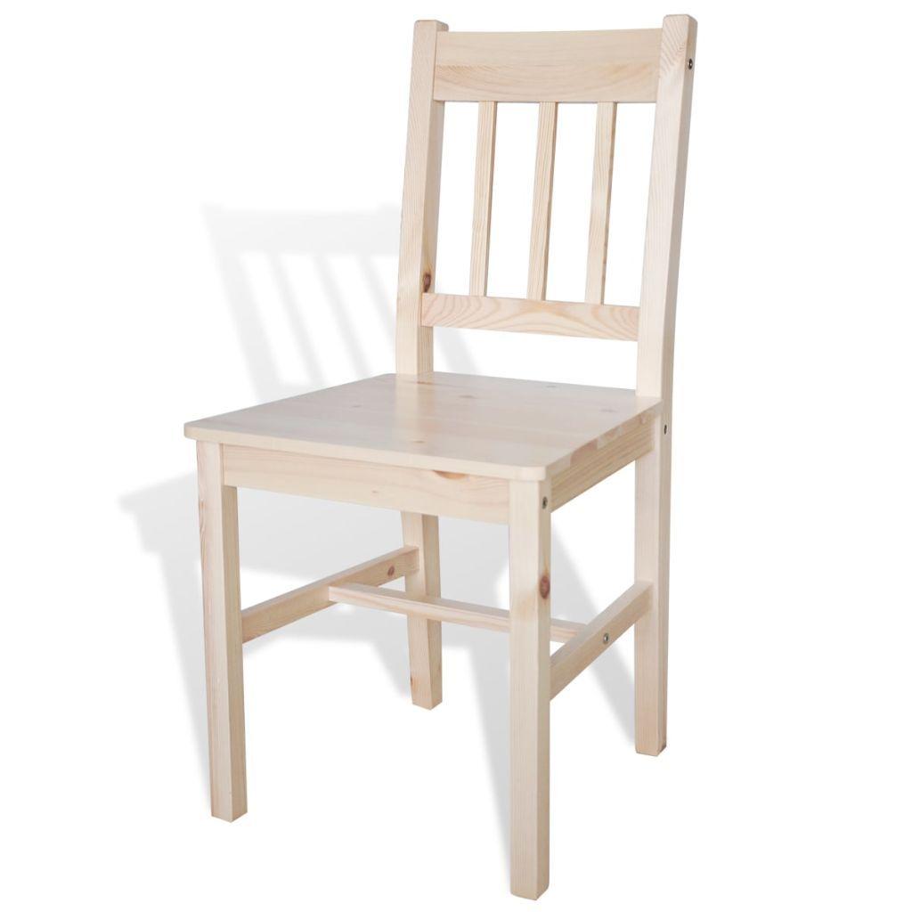 Natur Holz Ess Stühle #Esszimmerstühle (mit Bildern ...
