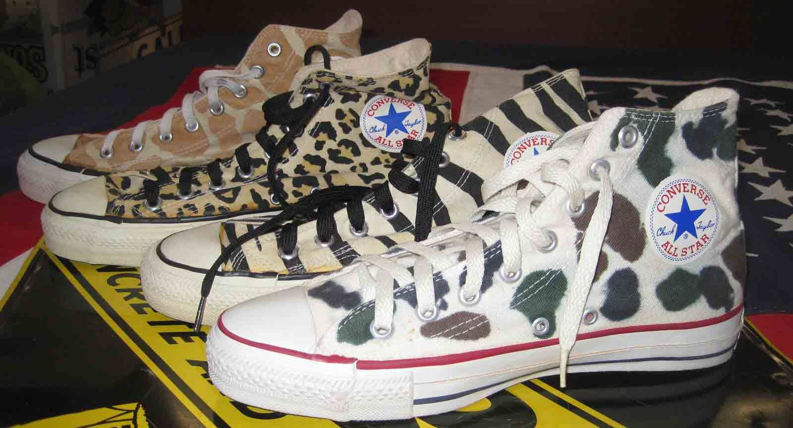 Converse All-Star Animal Print release