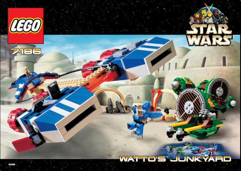 Star Wars Watto S Junkyard Lego 7186 Starbound Pinterest