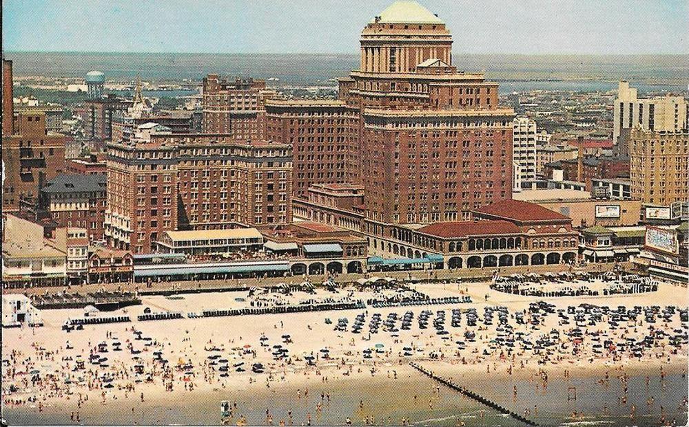 Chalfonte Haddon Hall Resort Hotel Boardwalk Atlantic City Nj 1970 S City Postcard Hotels And Resorts Atlantic City