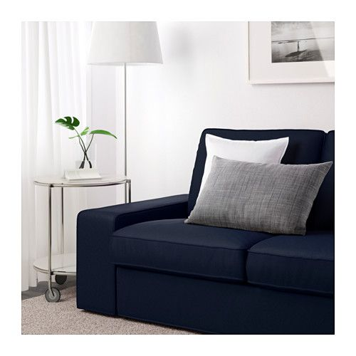Two Seat Sofa KIVIK Ramna Dark Blue