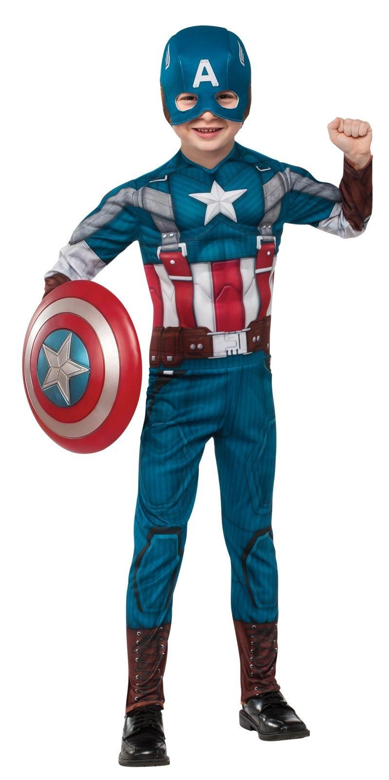 Boys Hawkeye Costume Kids DC comics Marvel Fancy Dress Outfit Licensed Dressup