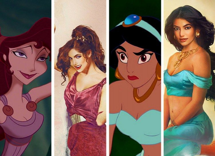 Disney Princesses In Real Life - Fashion Style Mag