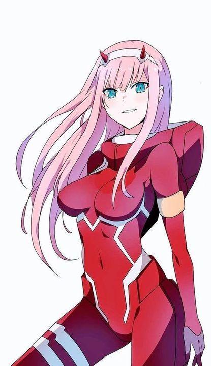 Imagenes para Tus Portadas (anime) - Zero Two- Darling in the FranXX