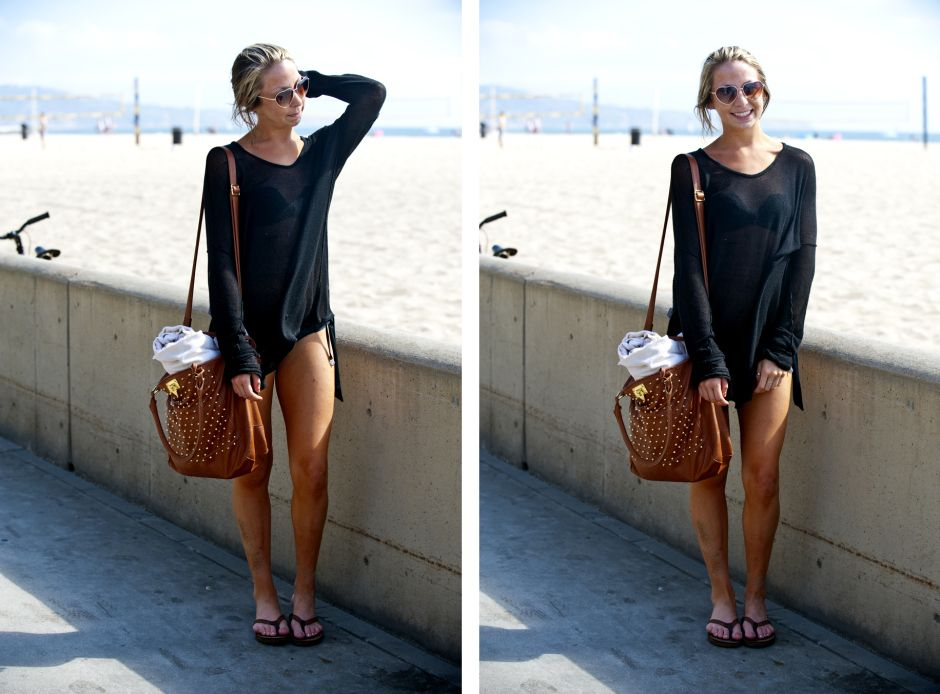 Sheer style for the beach @strandstyle fashion blog