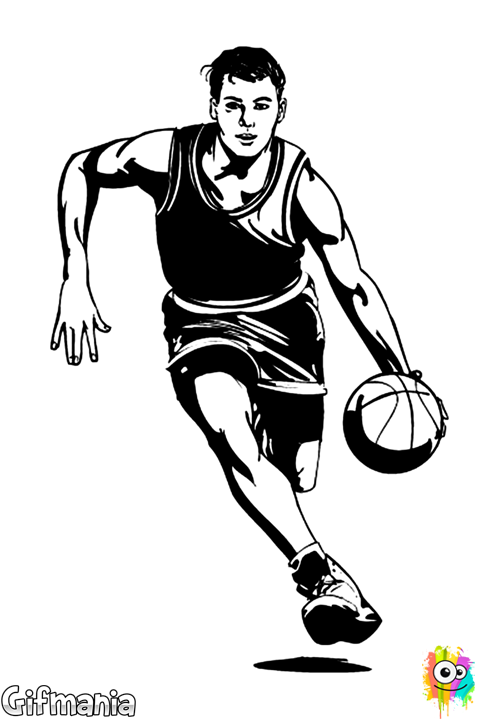 basketball player #basketball #basketballer #sport #drawing ...